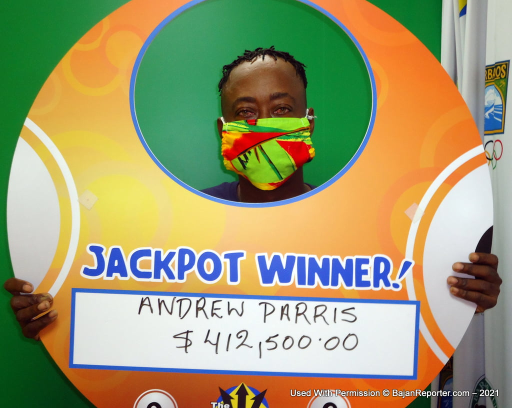 Mr. Parris remains humble and happy about his win and will definitely keep playing his favourite Mega 6 and Double Draw games, and encourages each player to keep doing the same.