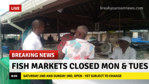 While subject to change, the same markets and their operating hours will be in effect both for today Saturday 2nd January and tomorrow Sunday 3rd January, 2021.
