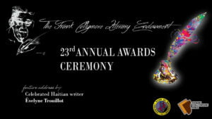 The winners of the 23rd Frank Collymore Literary Endowment Awards will be announced during a virtual ceremony on Sunday, February 14, 2020 at 6:00 p.m. The event will be streamed on the Central Bank of Barbados' Facebook page and YouTube channel.