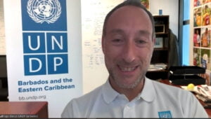 Ugo Blanco, Resident Representative for UNDP in Barbados & the Eastern Caribbean