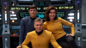 A prequel to Star Trek: The Original Series, the show will follow the crew of the USS Enterprise under Captain Christopher Pike.