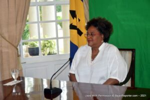 "However, <strong>Prime Minister Mottley</strong> explained that, ""<em>The intensifying global spread of COVID-19; the appallingly inequitable distribution of vaccines; the uncertainties of international travel and of likely participation numbers - all make it impractical for us to continue to plan and simply hope for the best</em>."" After consultation with the UNCTAD Secretary-General, and weighing all the risks, they have accepted the reality that <strong>UNCTAD 15</strong> can no longer be convened, physically, in Barbados during 2021."