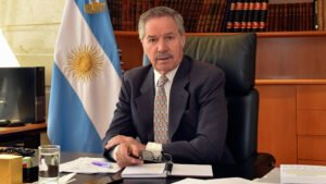Minister of Foreign Affairs, International Trade and Worship of the Argentine Republic, Felipe Sola