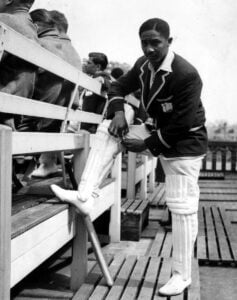 "As a cricketer, his achievements are numerous but it was his astute leadership as captain, that gelled the West Indies team which was thereafter elevated to the top of our major sport (<strong>Cricket</strong>) internationally. He was the second black person to captain our West Indies cricket team and was later called ""<strong>Cricket's Nelson Mandela</strong>""."