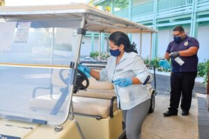 """""""<em>And it's not just here at the property. I am sure Aruba is proud to have the Freewinds on the island helping with sanitization and making the island safe. Tourists see this as well and know the standards are high. Thank you very much</em>!"""""""
