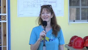 <strong>Mrs. Janice Jensen</strong>, Founder and Director of Nevis Animal Speak, said the expansion of the facility became necessary as the demand for animal care and veterinary services has increased exponentially over the years.
