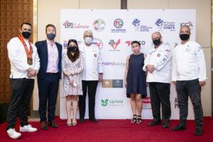 All entries used Flora Plant Butter and Flora Plant Cream and among all these innovative desserts, Chef Reina Joanne Marasigan from Etihad Airways won the first place prize.