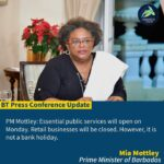 Mia Amor Mottley - 8th Prime Minister of Barbados