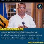 Public Aff's Min. Wilfred Abrahams