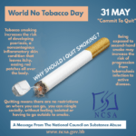In Barbados, the percentage of traditional cigarette smokers is very low. However, we have noted an increase in persons who are showing interest in vaping and using Fanta. Some of the vaping juice contains nicotine and Fanta is wild tobacco. Sadly, our youth is increasingly being exposed to such harmful chemicals in the homes and the community.