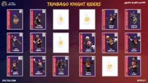 With a strong contingent of young Trinidadian players rounding out their squad, the Knight Riders will be hoping to carry their outstanding form into the 2021 season.