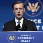 US National Security Advisor Jake Sullivan