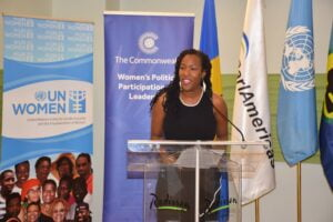 Representative, UN Women Multi Country Office - Caribbean, <strong>Tonni Brodber</strong> highlighted that one of the persistent constraints to inclusive growth for women businesses and small businesses remains access to finance.