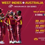 WI are on fire! WI Women took the T20I series and CG Inurance ODI series vs Pakistan. The West Indies men took the T20I series win vs Australia as Tuesday's match saw exciting performances and milestones as the Universe Boss made history!